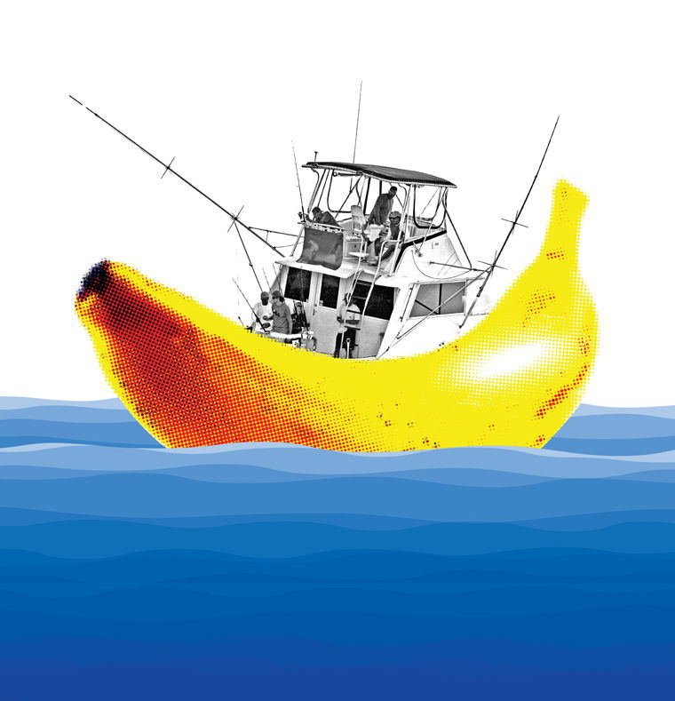 Why you shouldn't bring bananas on a fishing boat
