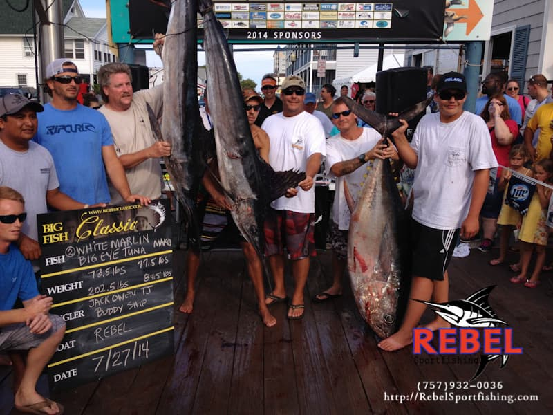 Captain Randy Butler - winner of 2007 White Marlin Open - Virginia Beach Fishing Charter Captain