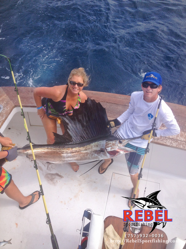 Fishing photos sailfish va beach fishing charter boat for Charter fishing virginia beach