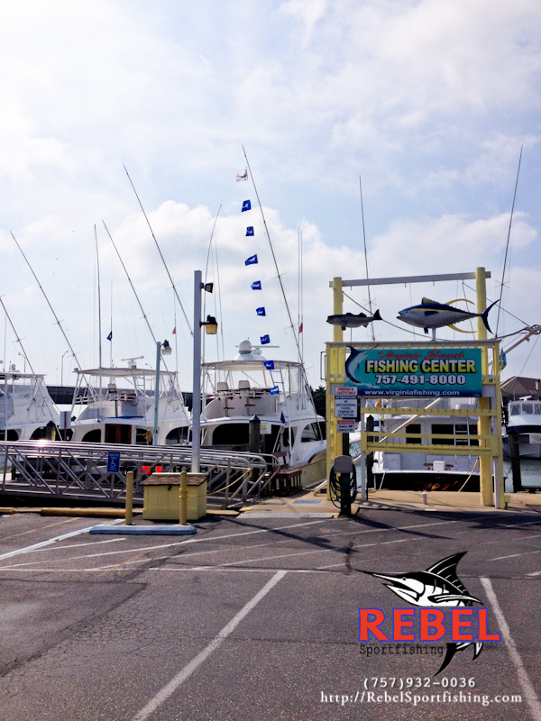 Map va beach fishing charter boat for Virginia beach fishing charters