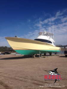 Rebel  Built to be an Offshore Fishing Boat Virginia