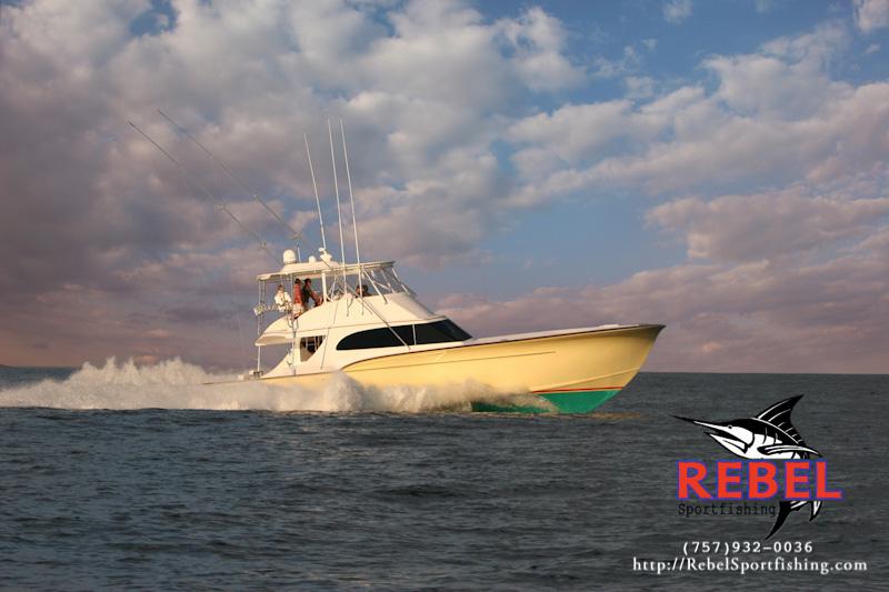 Exterior photo gallery rebel best offshore fishing boat for Va beach fishing