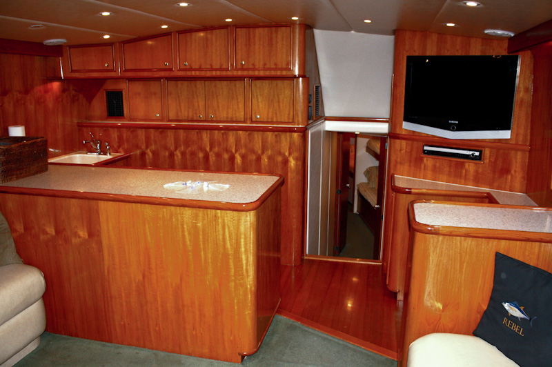 Interior Photo Gallery - Rebel best offshore fishing boat