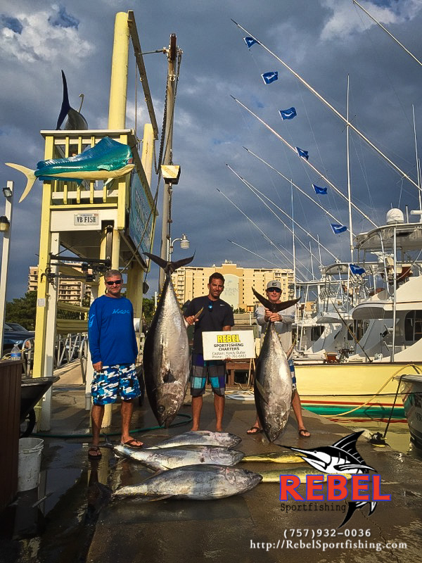 Fishing photos big eye tuna va beach fishing charter boat for Virginia beach fishing charters