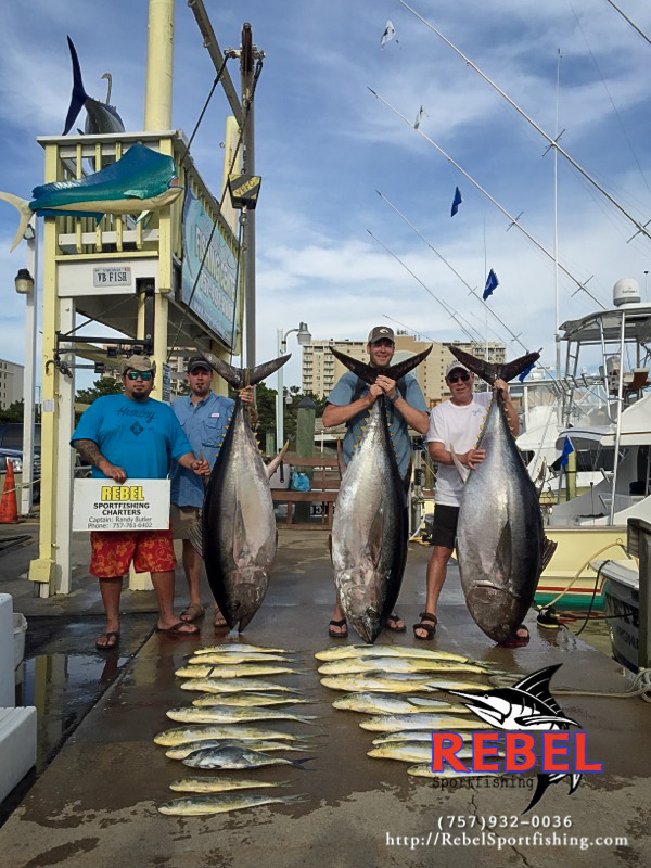 Fishing photos big eye tuna va beach fishing charter boat for Va beach fishing